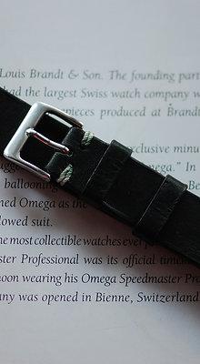 18mm Dark Green Handmade strap