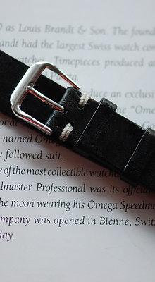 18mm Dark Tan Handmade strap