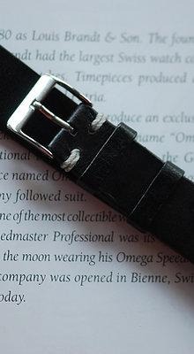 18mm Dark Brown Handmade strap