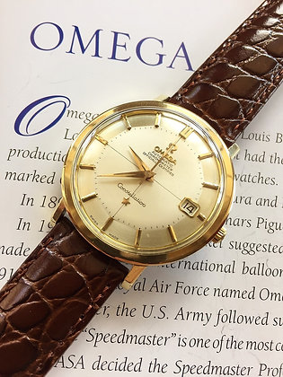 1963 VINTAGE OMEGA CONSTELLATION PIE PAN 2T