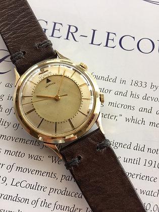 1960 Jaeger LeCoultre Memovox Alarm Wristwatch