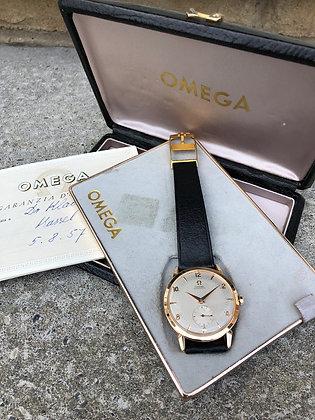 1955 FULL SET OMEGA 18K ROSE GOLD