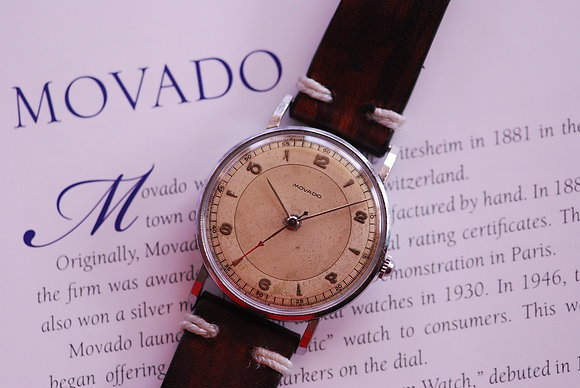1940's GORGEOUS MOVADO GENT'S VINTAGE WATCH