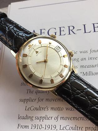1968 Jaeger LeCoultre Memovox Calendar Alarm