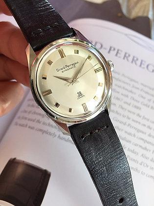1960's Girard-Perregaux Gyromatic 39 Jewels Watch
