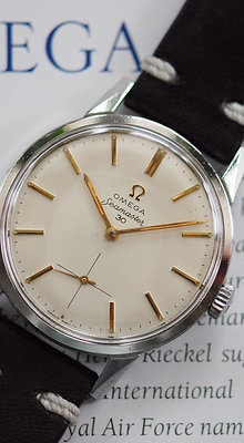 1962 OMEGA SEAMASTER 30 SS GENT'S WATCH