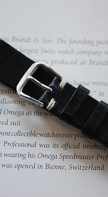 18mm Dark Grey Handmade strap