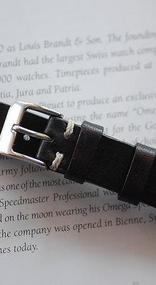 18mm Extra Dark Brown Handmade strap