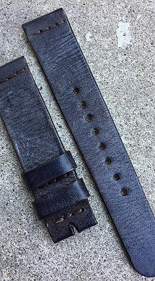 20mm Gray Handmade strap Thick