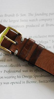 20mm Dark Sand Handmade strap