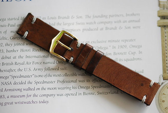 20mm Dark Sand Handmade strap
