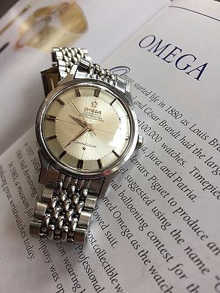 1962 VINTAGE OMEGA CONSTELLATION PIE PAN SS