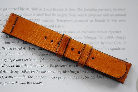 20mm Tan Handmade strap Thick