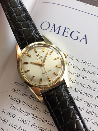 1962 OMEGA SEAMASTER WITH ORIGINAL PAPERS