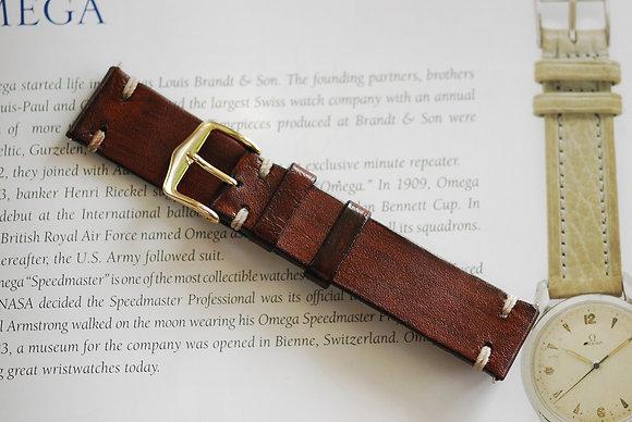 20mm Brown Handmade strap