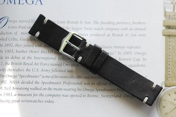 20mm Dark Brown Handmade strap