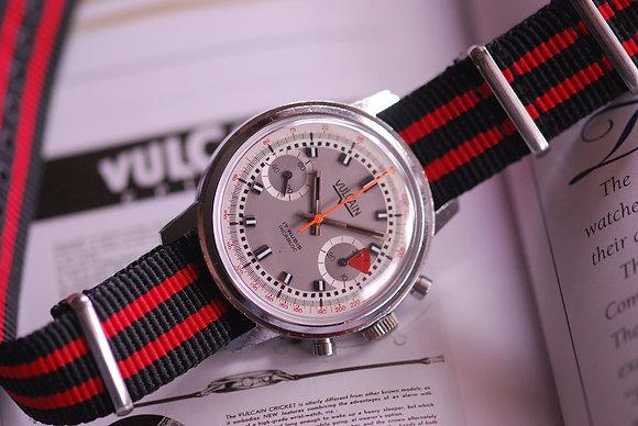 1970's Racer Dial Vulcain Chronograph Watch