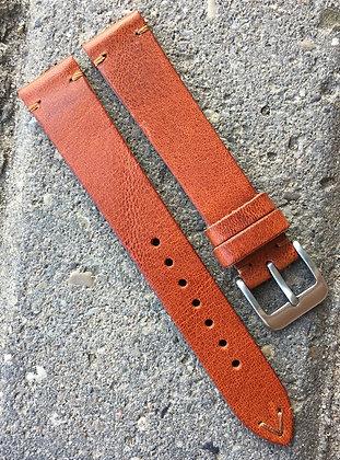 20mm Vintage Style tan strap