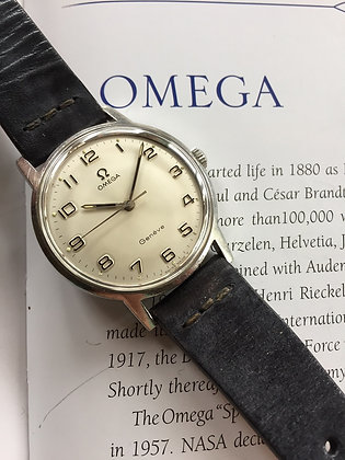 1969 VERY ATTRACTIVE OMEGA GENEVE SS WATCH