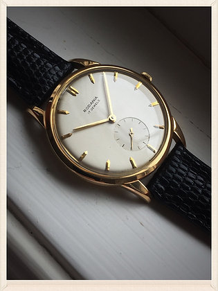 1940's RODANIA 18K VINTAGE WATCH