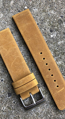 20mm Suede leather Mustard