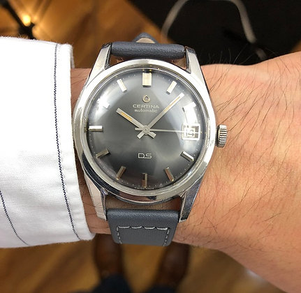 1965 CERTINA DS AUTOMATIC WATCH
