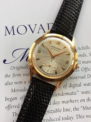 1950s OUTSTANDING MOVADO AUTOMATIC