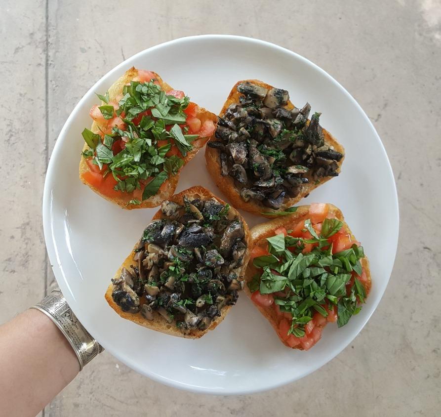 Bruscetta Platter (serves 2)