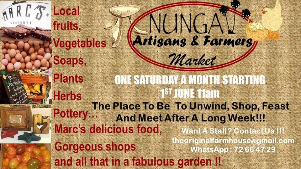 Nunga Artisans and Farmers Market Marcs Eatery