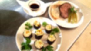Marcs Vegan Sushi - Marcs homemade terrine