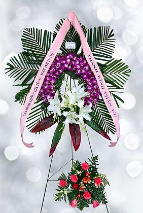 Heartfelt Wreath -W7