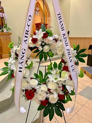 Love & Grace Wreath - W3