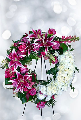 Loving Memory Wreath -W4