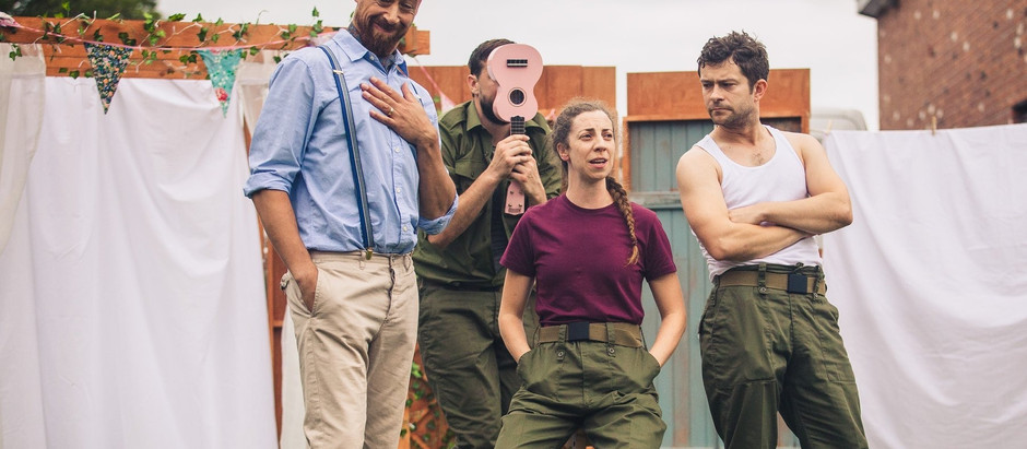 MUCH ADO ABOUT NOTHING at St Alfege Park