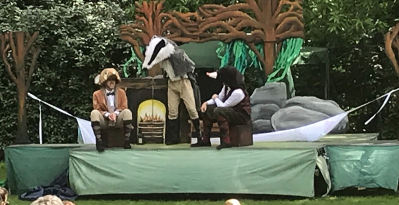 THE WIND IN THE WILLOWS in the Royal Observatory Garden