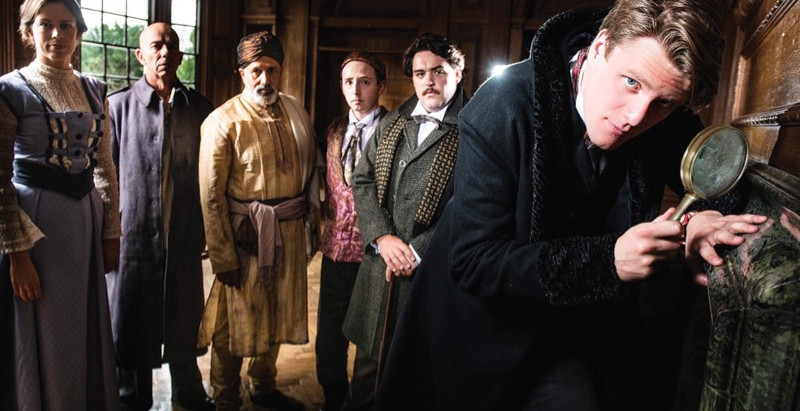 THE SIGN OF FOUR at Greenwich Theatre