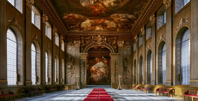 PAINTED HALL at the Old Royal Naval College
