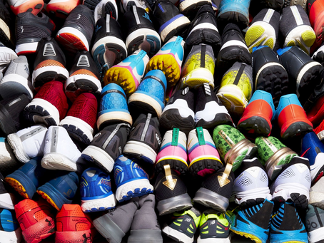 CHOOSE YOUR SHOES WISELY AND BRING A BOX OF KLEENEX; A NEW LIFE BEGINS