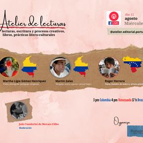 Brasil, Colombia y Venezuela en el primer Atelier de Lectura para el mundo hispano