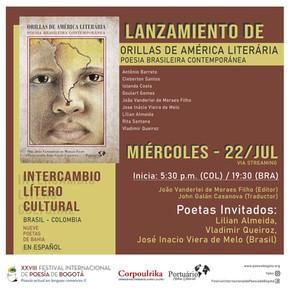 Lançamento de Antologia Poética promoverá difusão literária de nove poetas da Bahia na Colômbia
