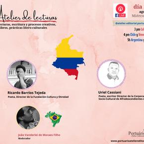 Poesía y gestión cultural: Ricardo Barrios Tejeda y Uriel Cassiani  en el Atelier de Lecturas