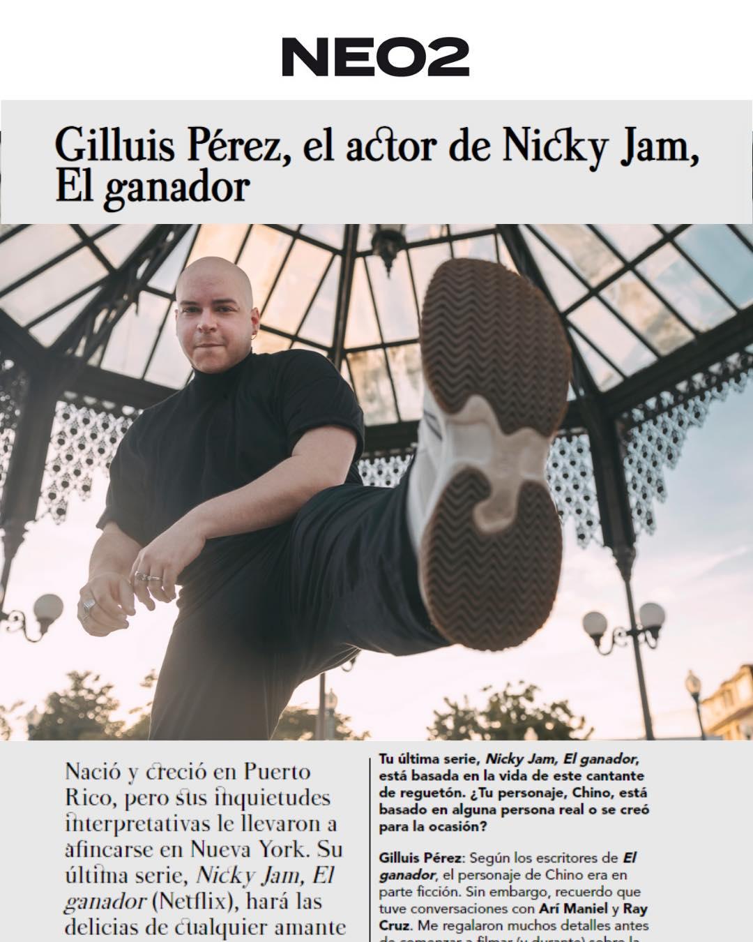 Gilluis Pérez para NEO2 Magazine