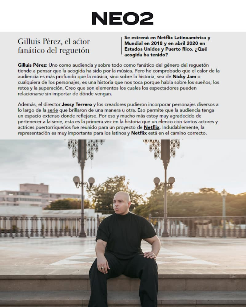 Gilluis Pérez NEO2 Magazine