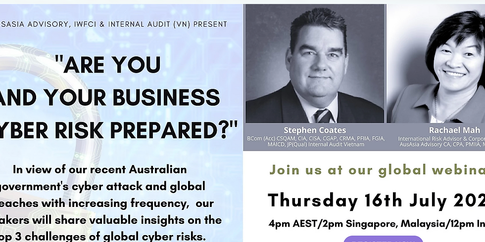 Are You & Your Business Cyber Risk Prepared? (AAAIWFCI 1101)