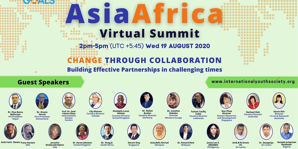 "Asia Africa Virtual Summit ""Change Through Collaboration"""