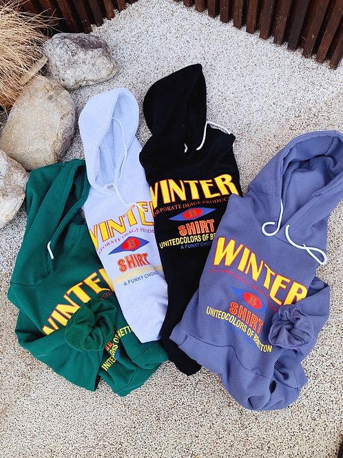 WINTER COLOUR パーカー 全4色