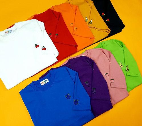 ポイント フルーツ Tシャツ 全9色