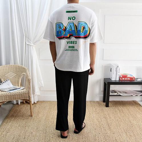 NO BAD VIBES Tシャツ 全4色
