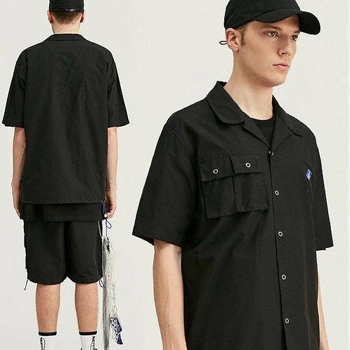 TECH カーゴセット シャツ 全2色