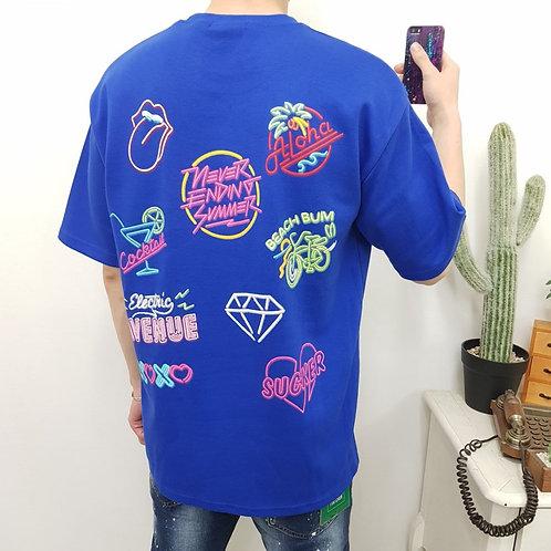 ネオン MULTI  Tシャツ 全3色
